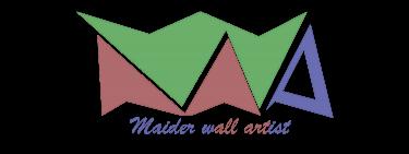 Logotipo De Maider Wall Artist