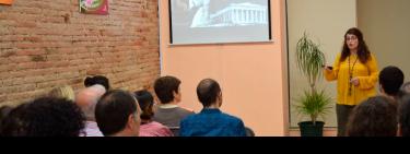 Maider Wall Artist. Conferencia En Nova Acrópolis Barcelona Sobre Belleza En El Arte Y Alma Griega. 2016